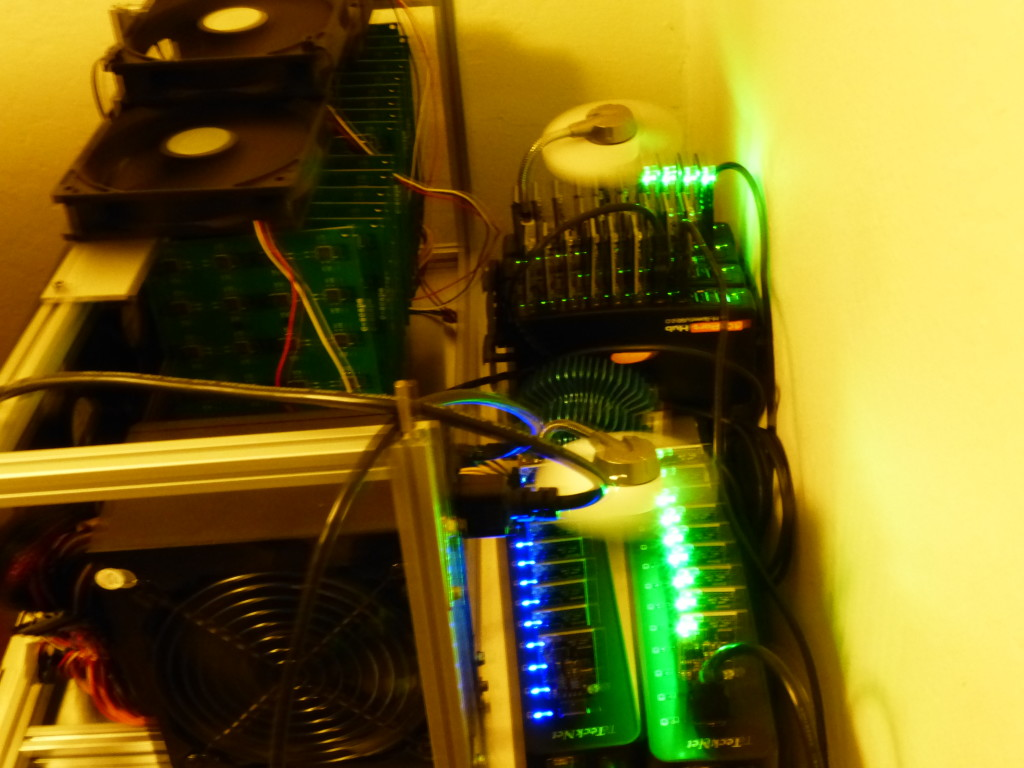 Small time mining Farm in 2013